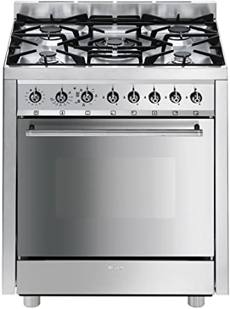 SMEG C7GMXI8-2 CUCINA A-20% INOX 70X60 F.E. MULTIF: Amazon.co.uk ...