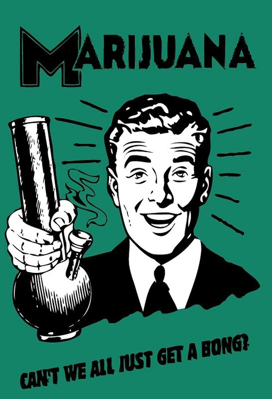 BlechschilderWelt Cartel de Chapa de Marijuana Weed Canabis ...