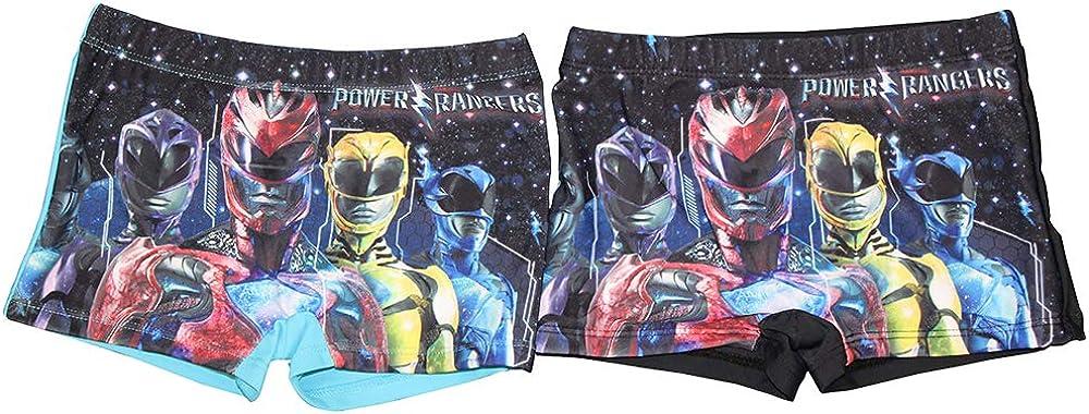 Set da 2 con Disegni Power Rangers Costume per Bambini