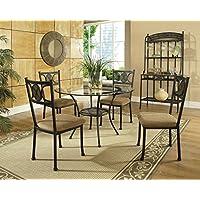 Steve Silver Company Carolyn Dining Table, 45 x 45 x 30