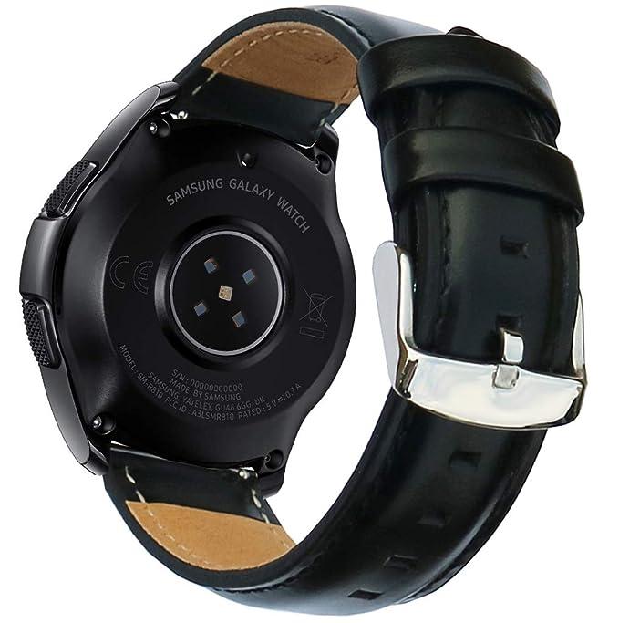 Correa para Reloj Galaxy de 42 mm y Garmin Vivoacive 3 y Ticwatch ...