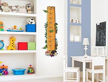 I Love Wandtattoo M 13 003 Kinderzimmer Messlatte Wald Zum Kleben