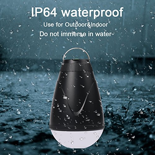 Sbode Camping Lantern, LED Remote Control Rechargeble Water Resistant Outdoor Indoor Portable Tent Light Bulb for Camping, Hiking, Fishing, Garden, Emergencies Photo #6