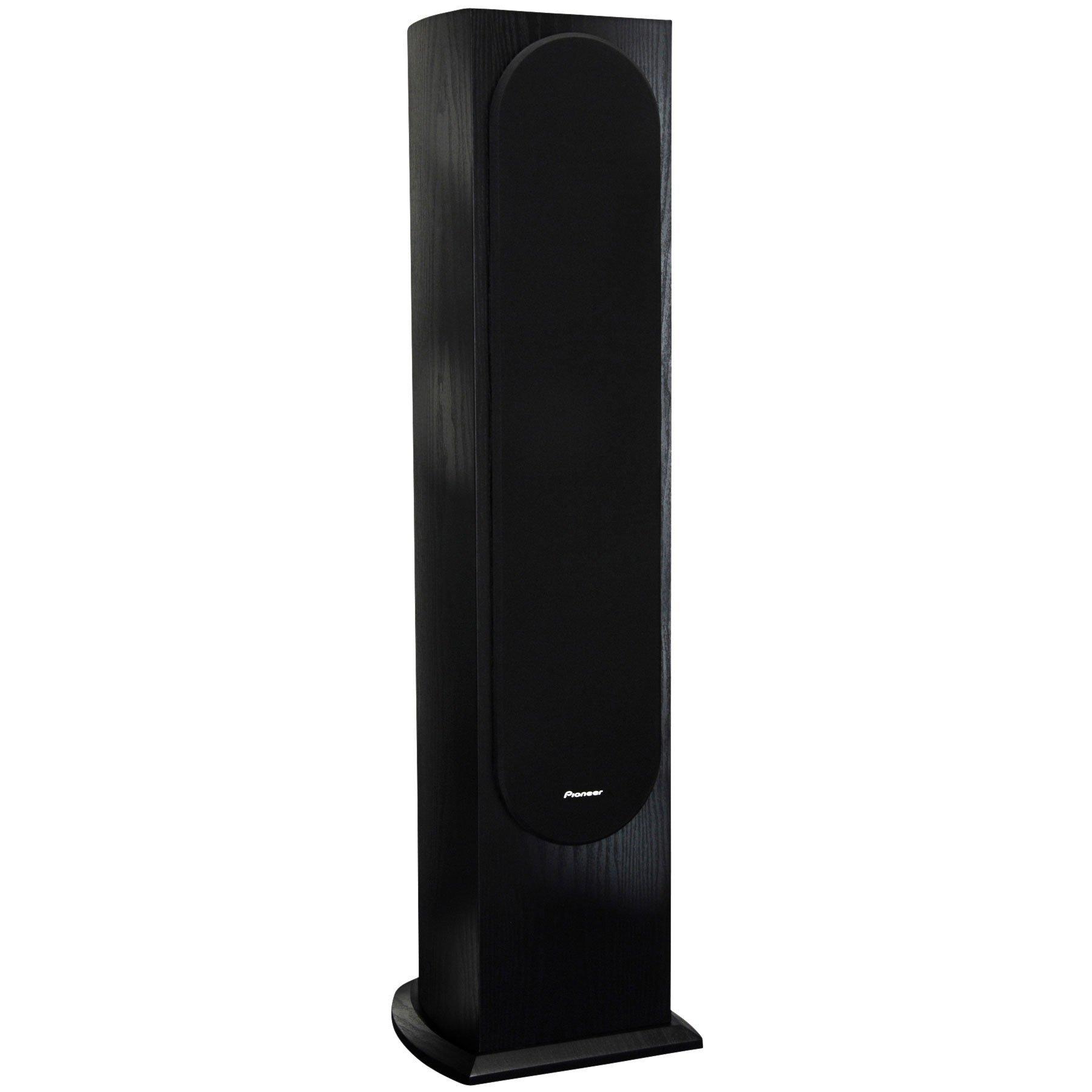 Pioneer SP-FS52 Home Audio Andrew Jones Designed Floor Standing Loudspeaker, Black