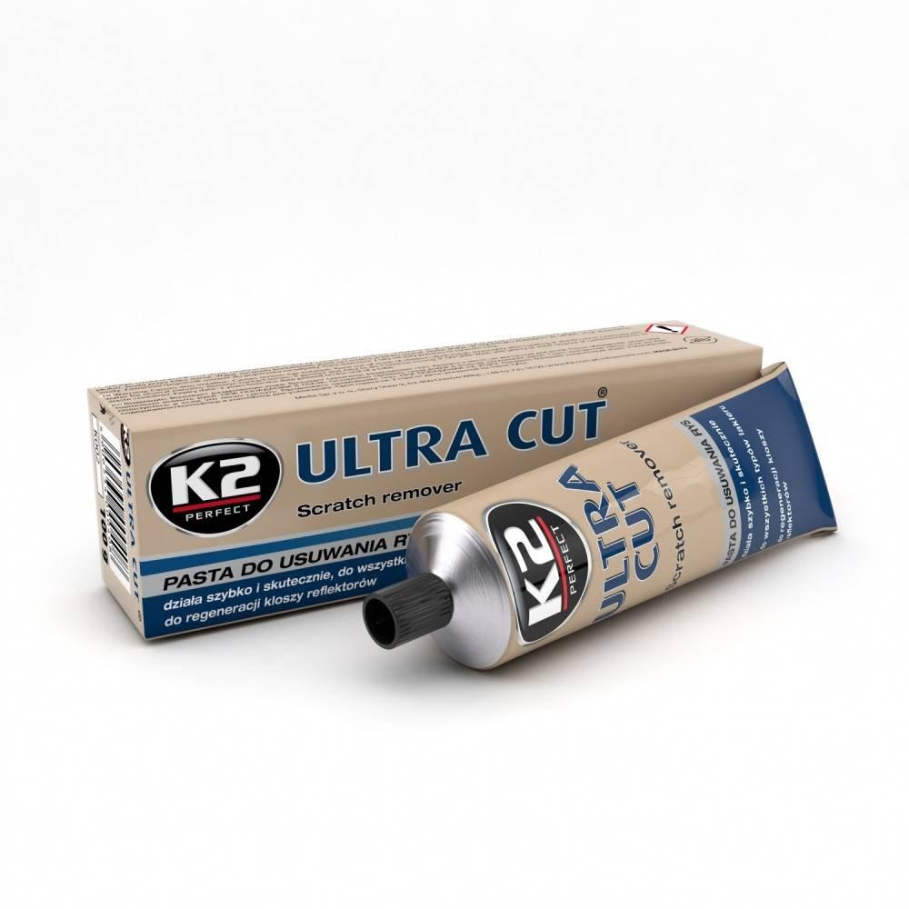 K2 Ultra Cut Car Scratch Repair Remover, car paint polish 100g - clear