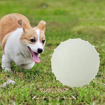 WINBST Bola eléctrica para Mascotas Bola Intermitente LED para ...