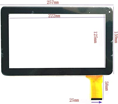 Negro Color EUTOPING ® De Nuevo 10.1 Pulgadas Pantalla tactil ...