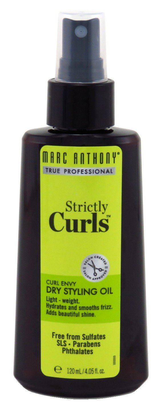 Marc Anthony Strictly Curls Dry Styling Oil 4.05 Ounce (120ml) (6 Pack)