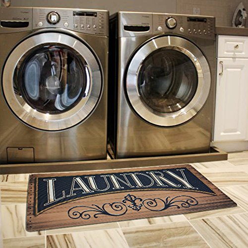 Ustide Wood Print Floor Rug For Laundry Room Cheap