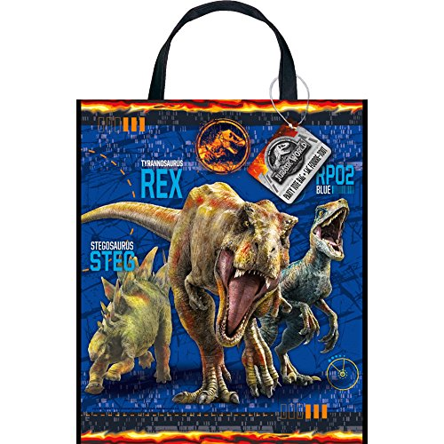 Unique Jurassic World Plastic Party Goodie Bag, Large, 13
