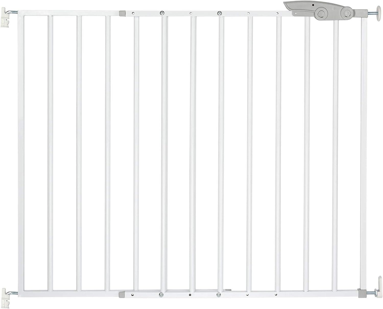 ib style/® TIMY Barri/ère de s/écurit/é |barri/ère descaliers et de portes pas de risque de tr/ébuchement r/églable 73-107 cm