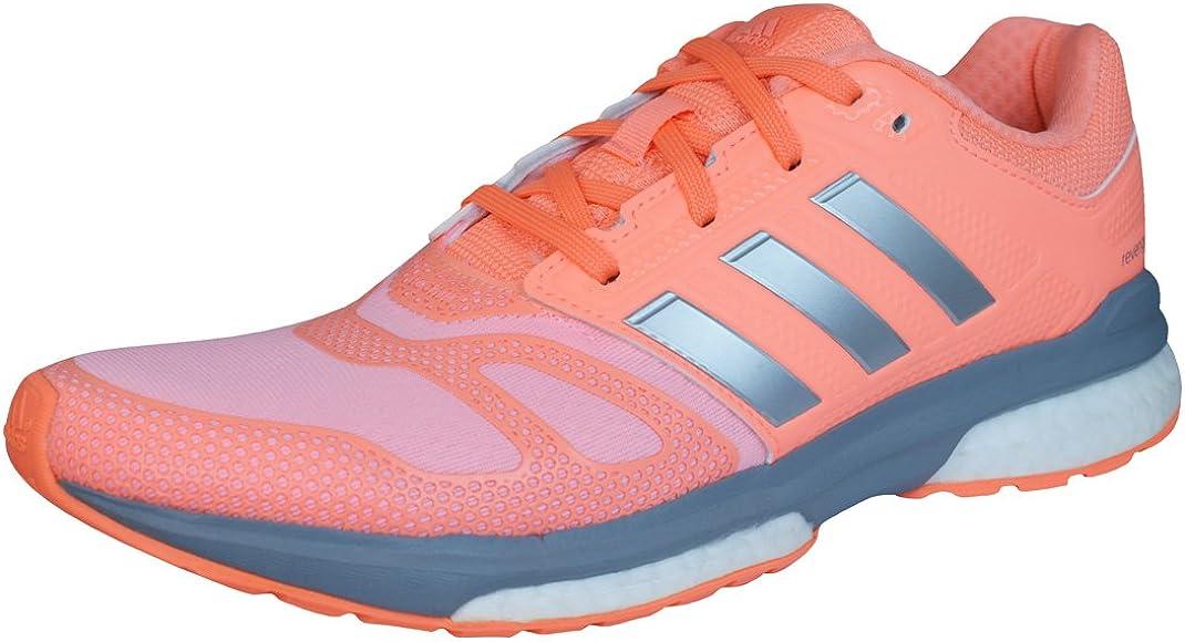 adidas Revenge Boost 2 Techfit Mujeres Zapatillas de Deporte corrientes-Peach-36: Amazon.es: Zapatos y complementos