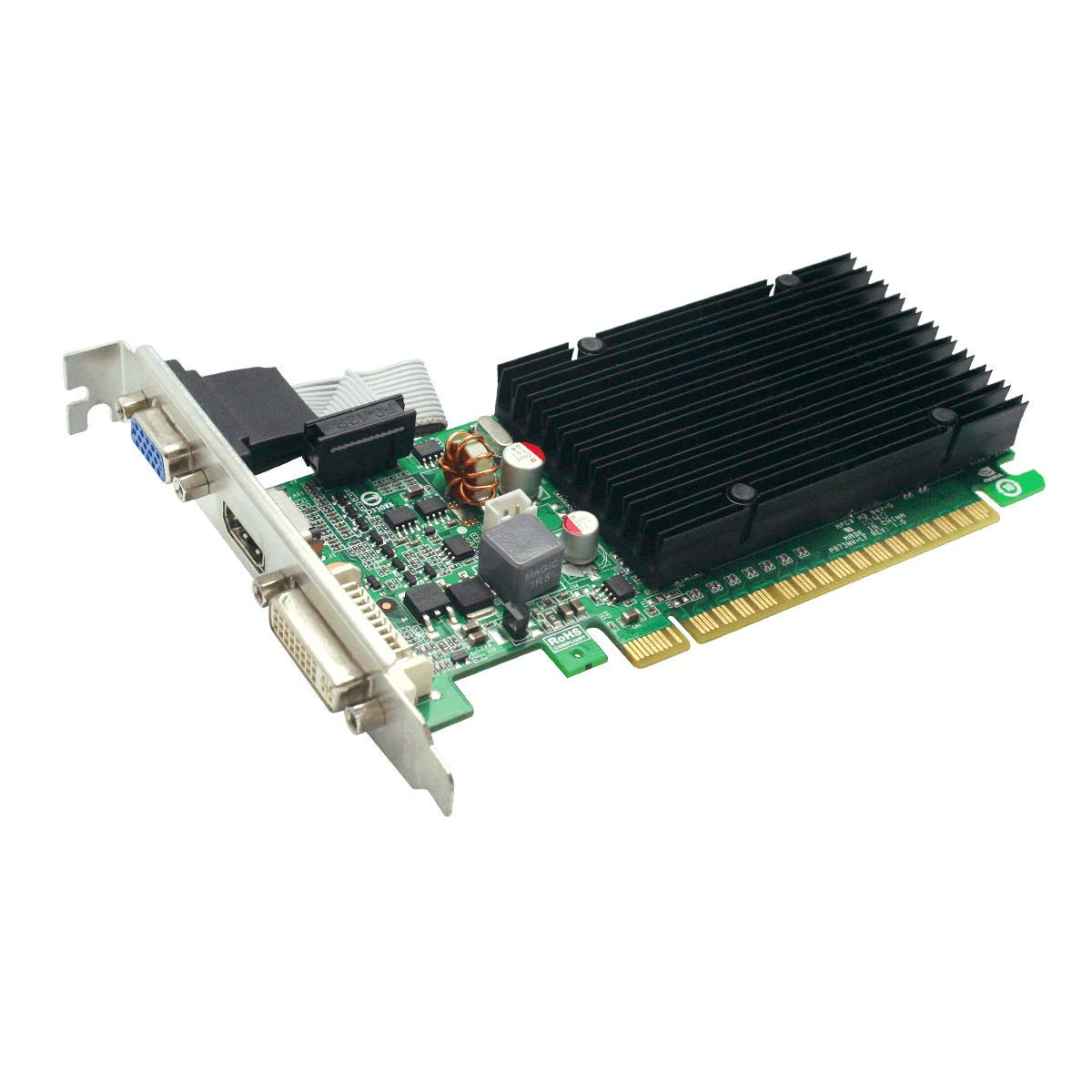 EVGA GeForce 210 Passive 1024 MB DDR3 PCI Express 2.0 DVI/HDMI/VGA Graphics Card, 01G-P3-1313-KR by EVGA (Image #3)