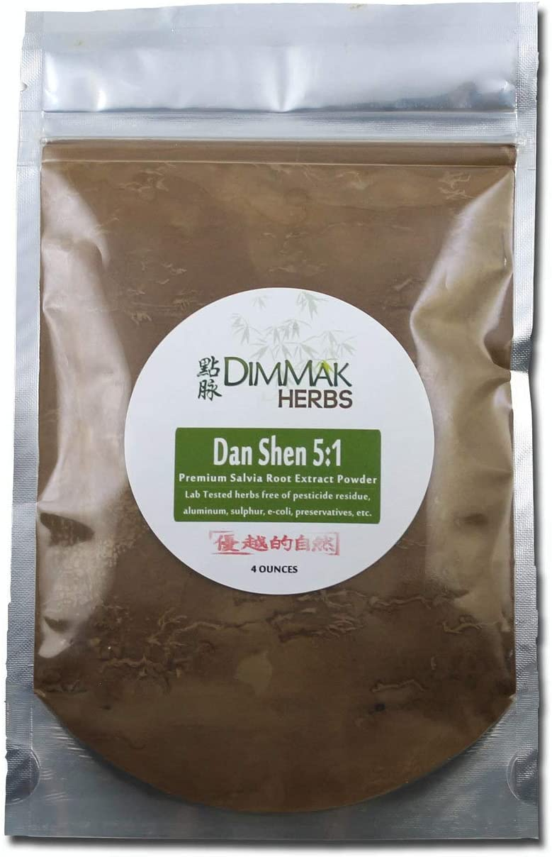 Dan Shen 5:1 Extract Powder 4oz | Salvia Root (Red Sage) Lab Tested 5:1 Concentrated Powder 112g: Health & Personal Care