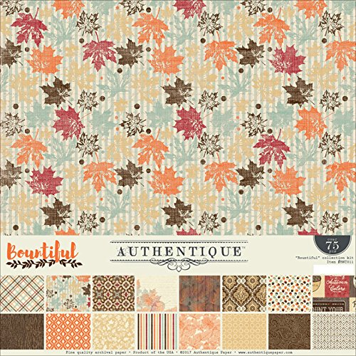 Authentique 12x12 Bountiful Collection Kit