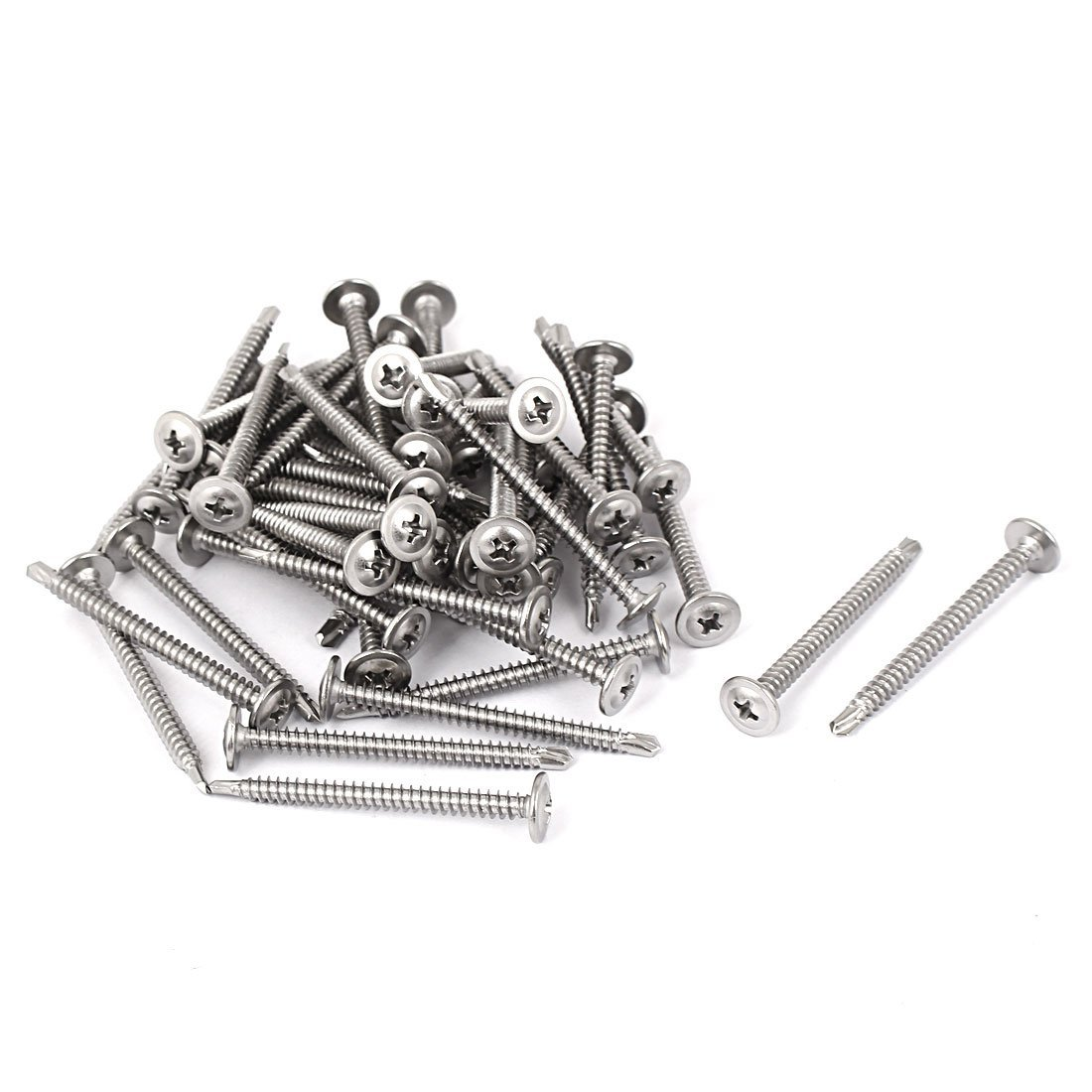 0.375 OD Stainless Steel Round Standoff Pack of 1 #8-32 Screw Size 4.25 Length, Female