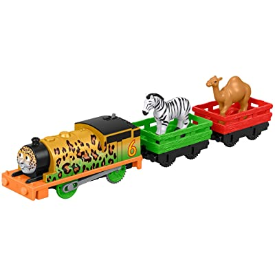 Thomas & Friends Fisher-Price Trackmaster, Animal Party Percy, Multicolor: Toys & Games