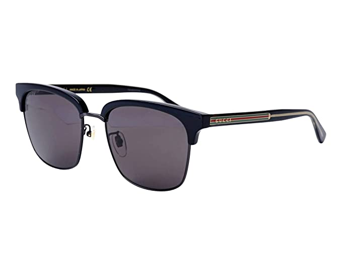 6cb2757a536 Gucci GG0382S 001 Black GG0382S Butterfly Sunglasses Lens Category 2 Size  59mm  Amazon.co.uk  Clothing