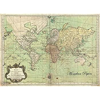 Amazon paper placemats table mats table decor pk 50 world map paper placemats table mats table decor pk 50 world map gumiabroncs Images