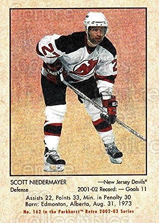 99b43b496 (CI) Scott Niedermayer Hockey Card 2002-03 Parkhurst Retro Minis 162 Scott  Niedermayer