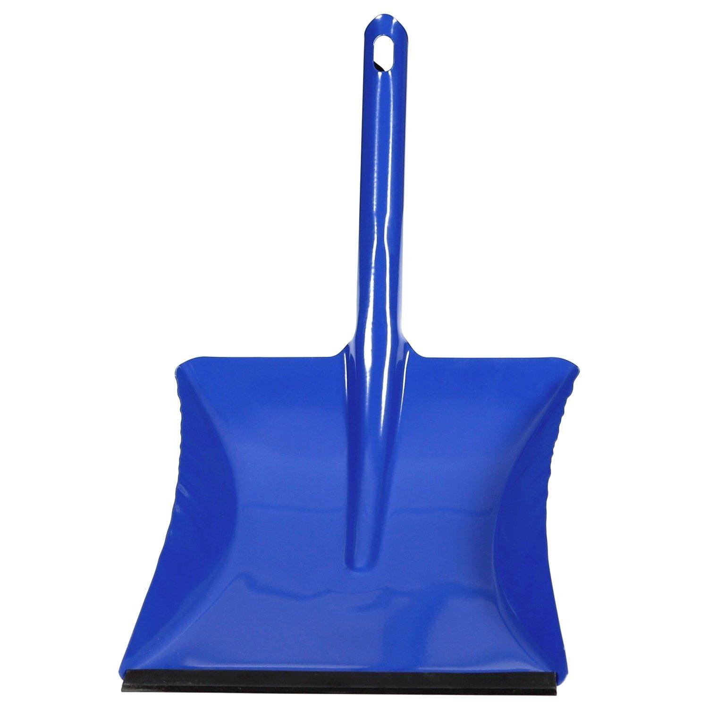 Bütic Metall Kehrschaufel, Kohleschaufel mit und Ohne Gummilippe und Holzgriff - Viele Modelle, Einhorn:Kehrschaufel Metall Blau mit Gummilippe Bütic GmbH