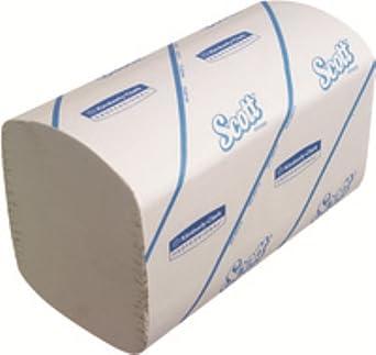 Scott 6689 rendimiento toallas de mano, Airflex, 1 capa, Interfolded, 274 hojas