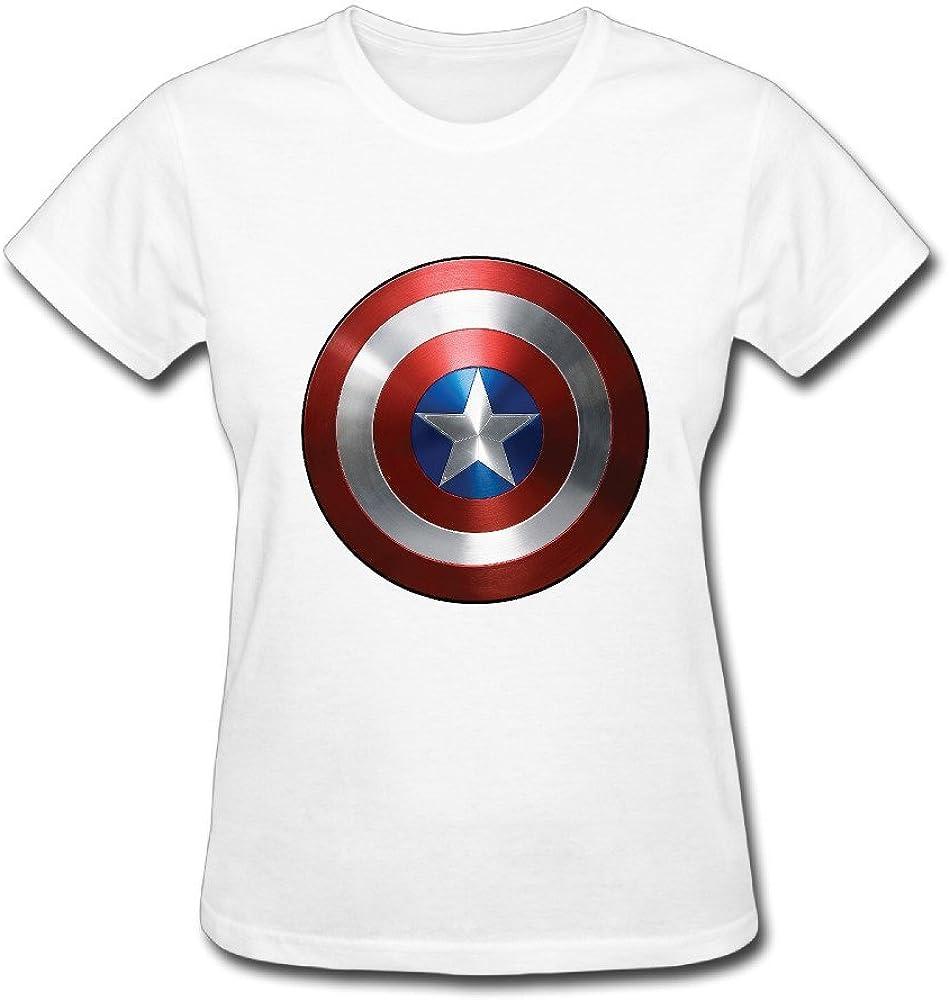 2016 Capitán América T camisas para mujer: Amazon.es: Ropa y accesorios