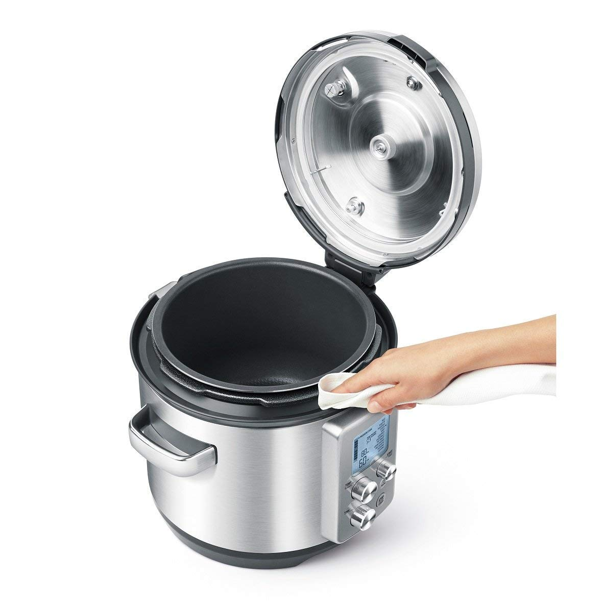 Breville the Fast-Slow Pro Multi-Function Pressure/Slow Cooker - BPR700BSS by Breville (Image #4)