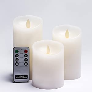 Ikea led block candle battery operated white 6 pack for Ikea tea light battery