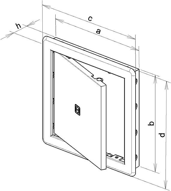 Panel de acceso – escotilla de inspección – revisión de la puerta ...