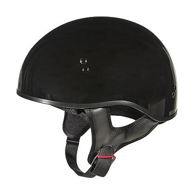 GMax GM45 Naked Black Half Helmet - Medium
