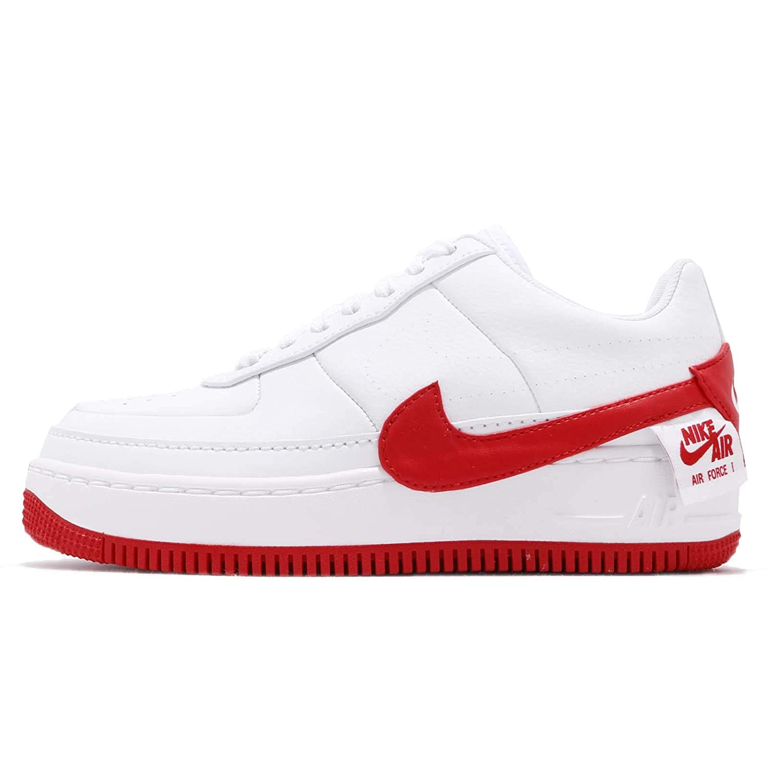 Blanc (blanc (blanc University rouge 001) Nike W Af1 Jester XX, paniers Basses Femme  juste pour toi