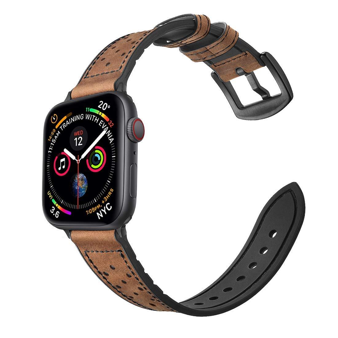 Malla Cuero Para Apple Watch (42/44mm) Mifa [7dycj1cm]
