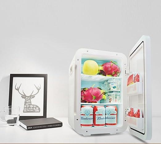 IKUN-JJ Mini Refrigerador 22L Portátil Refrigerador De Coche Congelador Más Frío 12V Mini Calentamiento Y Enfriamiento Nevera De Vehículos Uso Doméstico: ...