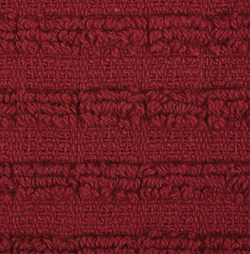 Ritz Royale Collection 100% Combed Terry Cotton, Highly Absorbent, Oversized, Kitchen Towel Set, 28'' x 18'', 2-Pack, Solid Paprika Red by Ritz (Image #4)