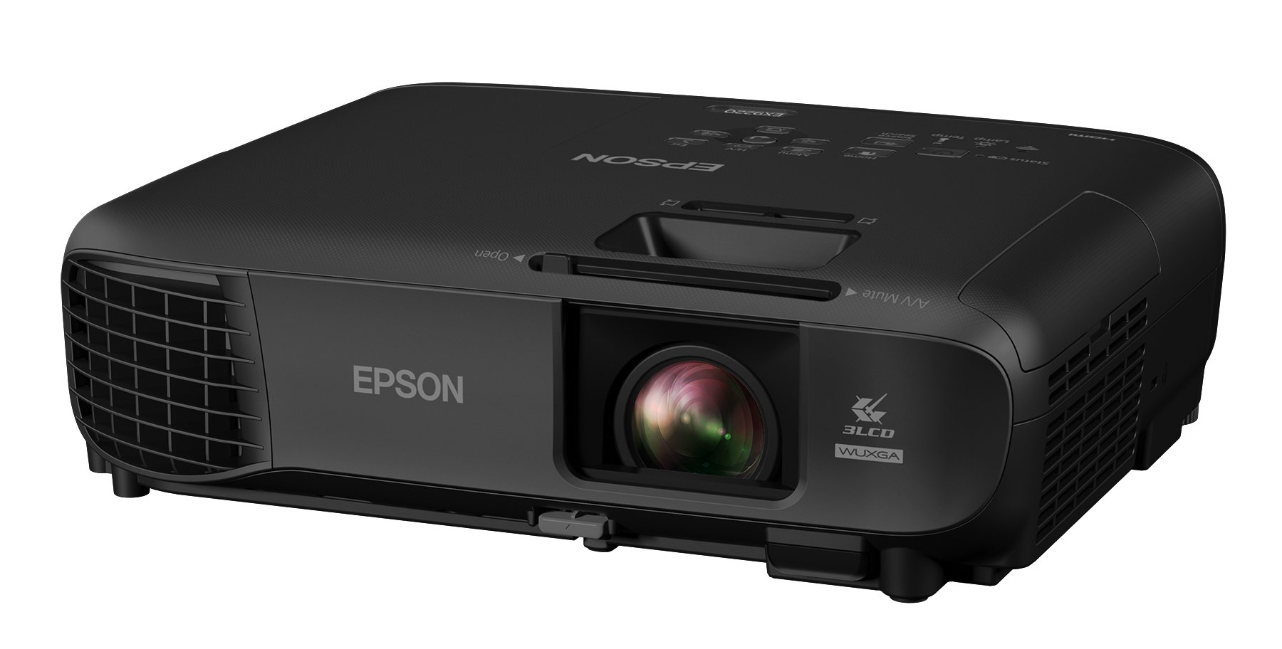 Epson Pro EX9220 1080p+ WUXGA 3,600 lumens color brightness (color light output) 3,600 lumens white brightness (white light output) wireless Miracast HDMI MHL 3LCD projector by Epson