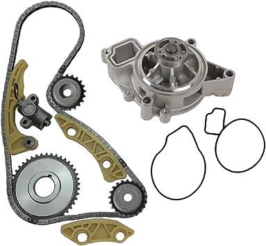 [WQZT_9871]  Amazon.com: MOCA Timing Chain Kit Water Pump for 2002-2009 Saturn Aura Sky  & Vue & Cobalt & HHR Oldsmobile Alero 2.2L 2.4L L4 16V DOHC F 5: Automotive | 2007 Saturn Aura 3 5 Engine Water Pump Diagram |  | Amazon.com