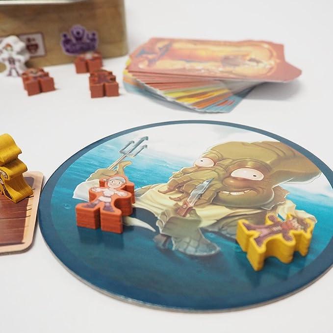 Tranjis Games - Piratas Al Agua - Juego de mesa (TRG-05pir ...