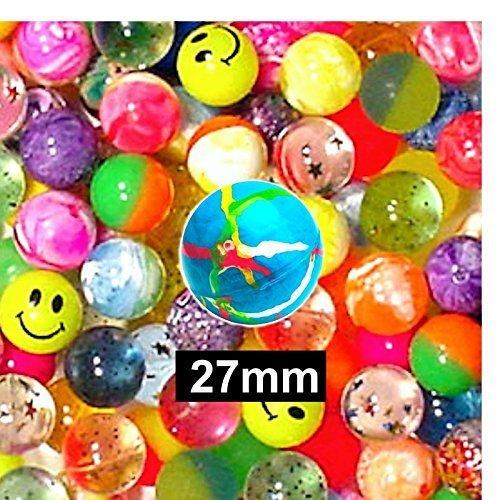 Guaranteed4Less Lot de 50 balles rebondissantes Idéal pour des lots cadeaux de fête