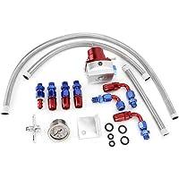 KIMISS Regulador de presión de combustible universal ajustable
