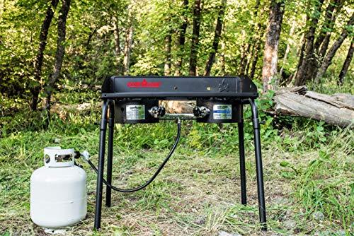 Buy camp chef 2 burner stove bbq box