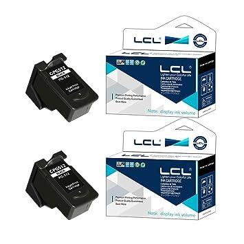 LCL PG512 PG-512 PG-512XL(2-Pack Negro) Cartuchos de Tinta ...