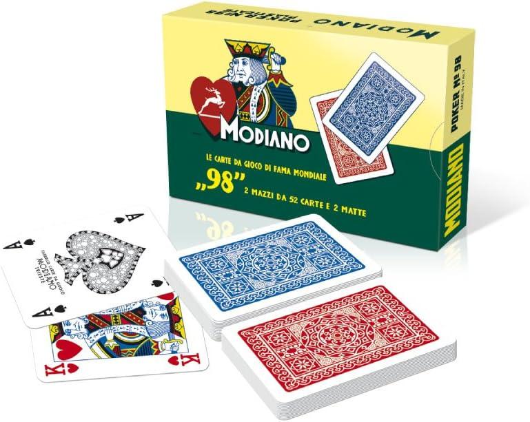 MAZZO DI CARTE PLASTIFICATE DA GIOCO GAME NAPOLETANE 40 CARTE