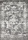 Unique Loom 3141294 Area Rug, 7'' x 10'', Grey