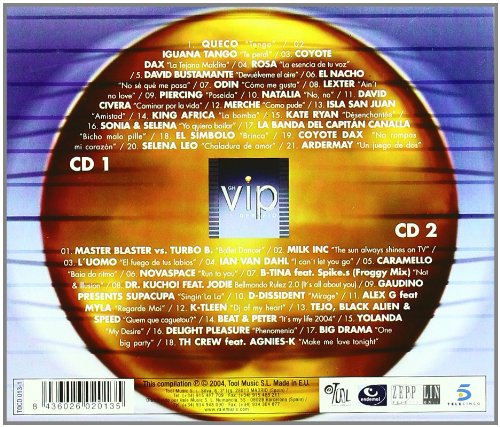 Various Artists Big Brother Vip Only The Best Latin Dance Hits Music