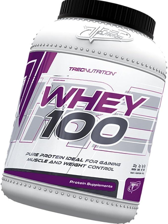 100% Whey Protein 600g - 100% de proteína de suero - Slim Body / Control de Peso - Bajo en calorías batido de proteínas - ganar músculo y Control de ...