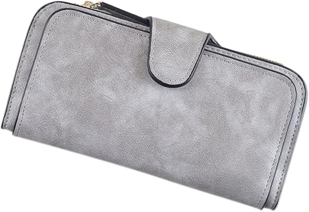 Etbotu PU Leather Wallet,Buckle Envelope Handbag,Fashion Leisure Style for Women