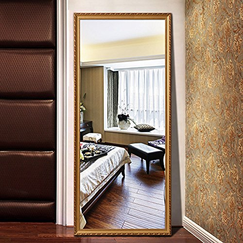 Alice Solid Wood Frame Full Length Floor Mirror Bedroom