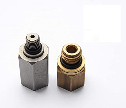 Ford 6 0 L Engine High Pressure Oil Rail Adapters Leak Test Kit Fuel Rail  1/4 NPT Female Adapter Converter