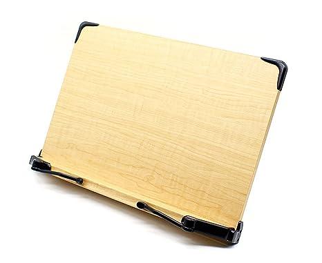 Alpha leggio AB1101 ergonomico Book Holder pieghevole leggio per ...